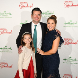Wes Brown and his family enjoyed the Christmas at Graceland premiere at the king