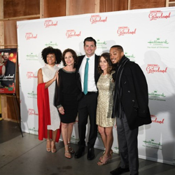 The Christmas at Graceland cast and crew enjoyed a VIP party following the premiere at Graceland.