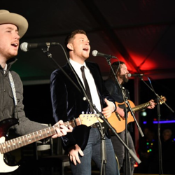 Scotty McCreery sang his latest hit songs plus some Christmas favorites.