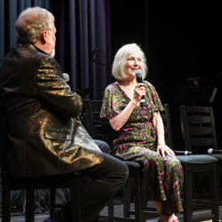 Bonya McGarrity shared her memories of Graceland at the Conversations on Elvis panel.