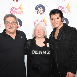 Dean Z is a big Elvis fan who loves to celebrate the king!