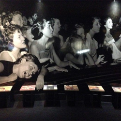 An exhibit at the Elvis at The O2 exhibition in London.