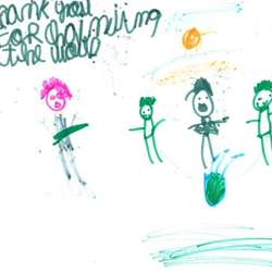 Kindergarten teacher Missy Fleshman taught her three classes of students at The Magellan International School in Austin, Texas, about Elvis. Inspired by the King of Rock