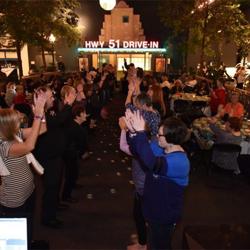 Elvis fans danced the night away at Club Elvis.
