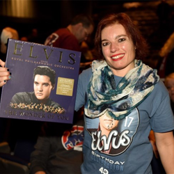 There were giveaways at several events during Elvis
