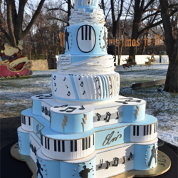 This cake was the largest in Graceland history.