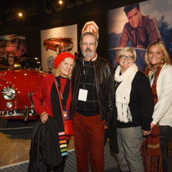 Fans enjoyed an evening tour of Graceland and a reception at Elvis Presley
