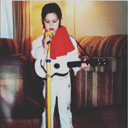 Instagram user mrsjennamerickson said this #ElvisCostume was handmade in 1989.