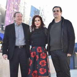 Graceland CEO Jack Soden, Priscilla Presley and Graceland Holdings Managing Partner Joel Weinshanker welcomed fans from around the globe to Elvis Presley