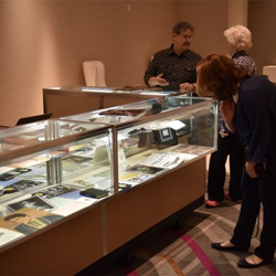 Bidders checked out items featured in The Auction at Graceland, which took place at The Guest House at Graceland.
