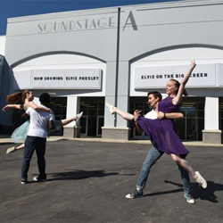 """Dancers from New Ballet Ensemble thrilled fans with their """"Jailhouse Rock"""" routine."""