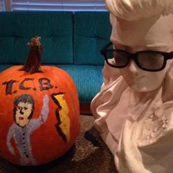 Submitted by @Grantonious #ElvisPumpkin