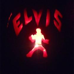 Submitted by Gretchen. #ElvisPumpkin