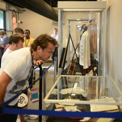 Bidders get a final glimpse at items featured in the Auction at Graceland.