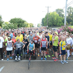 Elvis fans gather for a great cause during the annual Elvis Presley 5K.