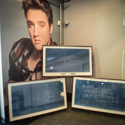Elvis fans will be able to view items featured in the first-ever Auction at Graceland during Elvis Week.