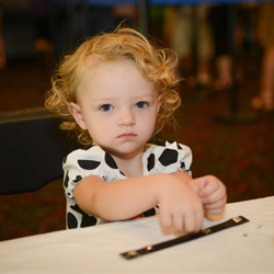 Little Elvis fans get to do arts and crafts during Elvis Week 2014!