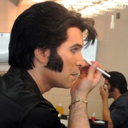 Elvis Week blogger Jon Waterhouse spends a day in the life of an Elvis tribute artist.