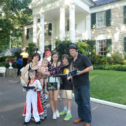 Elvis fans participate in Graceland Trivia Tour with the new iPad experience!