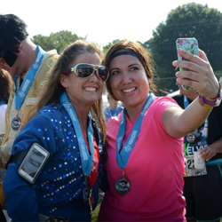 Fans dressed up to run in the Elvis Presley 5K during Elvis Week.