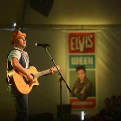 Memphis musician Brad Birkedahl performed at A Salute to Memphis Music concert.