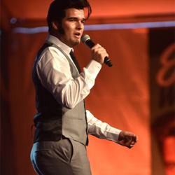 Ben Thompson performs at the ETA Showcase on August 10.