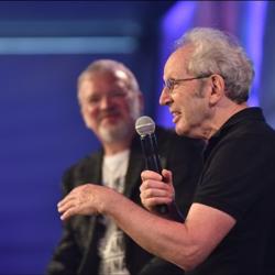 Elvis biographer Peter Guralnick spoke at the Elvis 101 event.