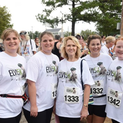 The Elvis Presley 5K took place on August 12 at Graceland.