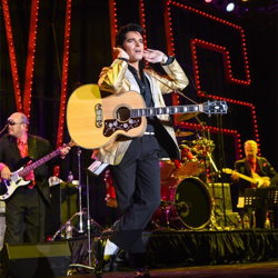The 10 Ultimate Elvis Tribute Artist Contest winners performed at the Ultimate Return event during Elvis Week.