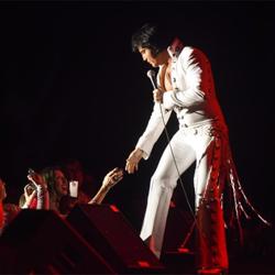 The 10 Ultimate Elvis Tribute Artist Contest winners performed at the Ultimate Return event during Elvis Week.
