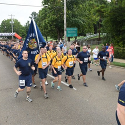 Members of the Navy competed in the Elvis Presley 5K.