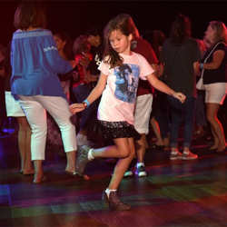 Elvis fans of all ages danced the night away at the Elvis Week Dance Party.