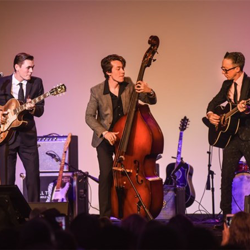 Memphis musicians paid tribute to Sun Records and Elvis at the Salute to Sun concert.
