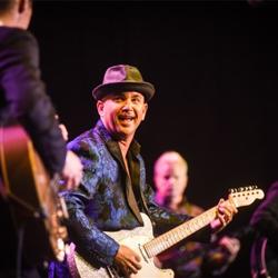Memphis musicians, including Brad Birkedahl, celebrated Sun Studio at the Salute to Sun event.