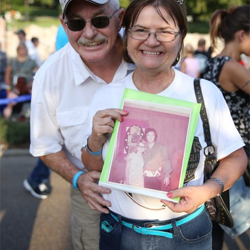 The annual Candlelight Vigil brings Elvis fans together.