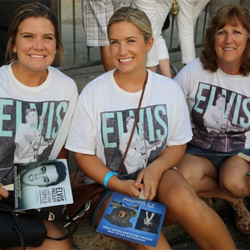 The Candlelight Vigil brings together Elvis fans of all ages and backgrounds.
