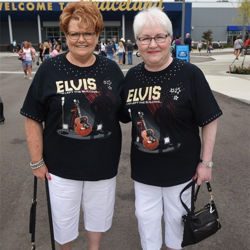 Thousands of fans from around the world are visiting Graceland during Elvis Week.