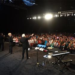 The gospel concert is always a popular event during Elvis Week.