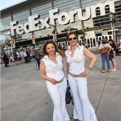 Fans from around the world celebrated the king at the Elvis: Live in Concert event.