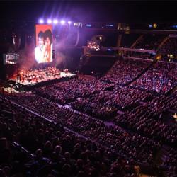Elvis was back in the building at the Elvis: Live in Concert event during Elvis Week.