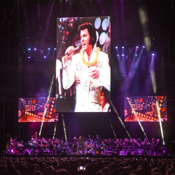 The Elvis: Live in Concert event had fans cheering and singing along.