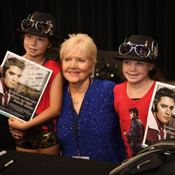Donna Rhodes Morris sang backup for Elvis.