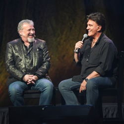 TG Sheppard and Tom Brown discussed all things Elvis during Conversations on Elvis: Connections.