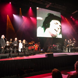 Elvis Live in Concert featured the King of Rock