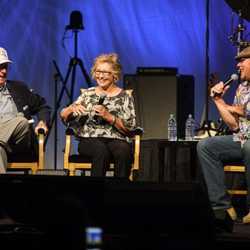 Rex and Elisabeth Mansfield shared their Elvis memories during the Fan Club Presidents