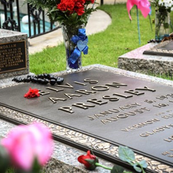 Fans from around the world send tributes to Elvis during Elvis Week.