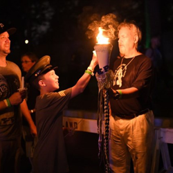 Candlelight Vigil is such a special evening at Graceland.