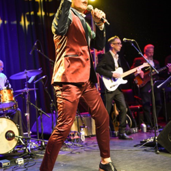 Niko performed a mix of Elvis songs, classic hits and Italian tunes.