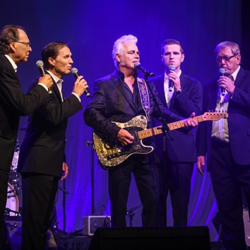 Dale Watson was joined by the Blackwood Brothers Quartet for a gospel performance.