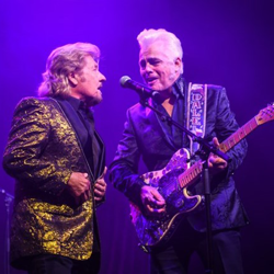 Jerry Phillips joined Dale Watson for the Musical Salute to Elvis concert.